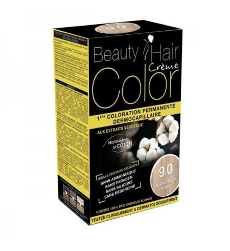 BEAUTY HAIR CREME COLOR BLOND TRES CLAIR