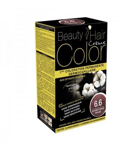 BEAUTY HAIR CREME COLOR BLOND FONCE ROUGE